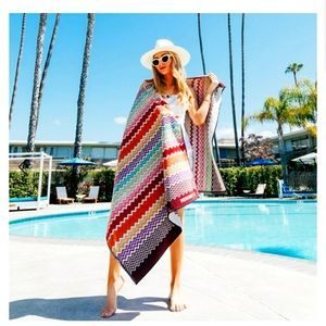 FREE SHIPPING!Missoni Home Rufus Terry Beach Towel